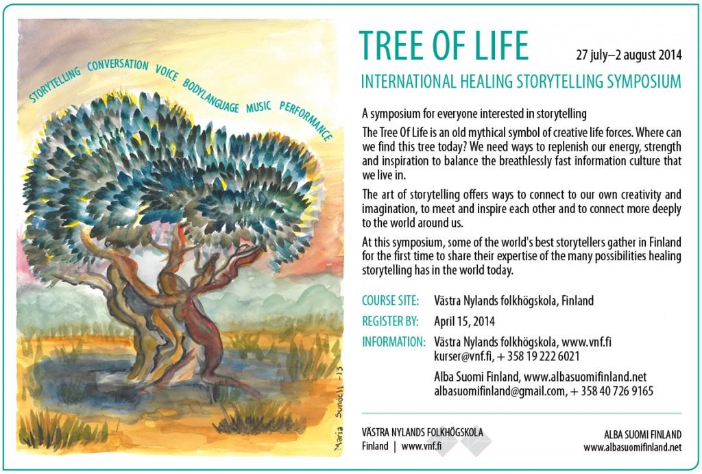 Tree of Life Finland 2014